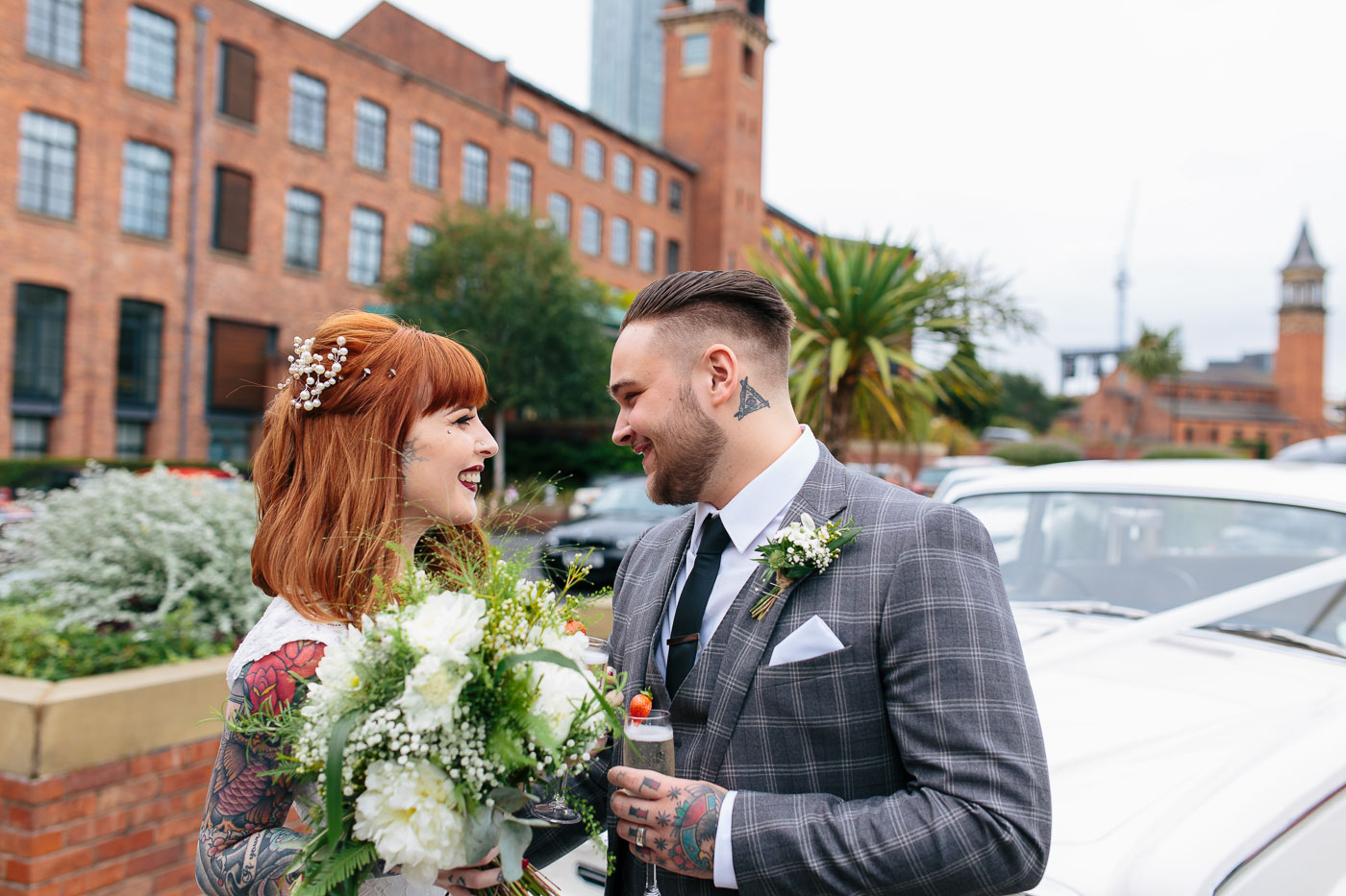 natural wedding photography in manchester