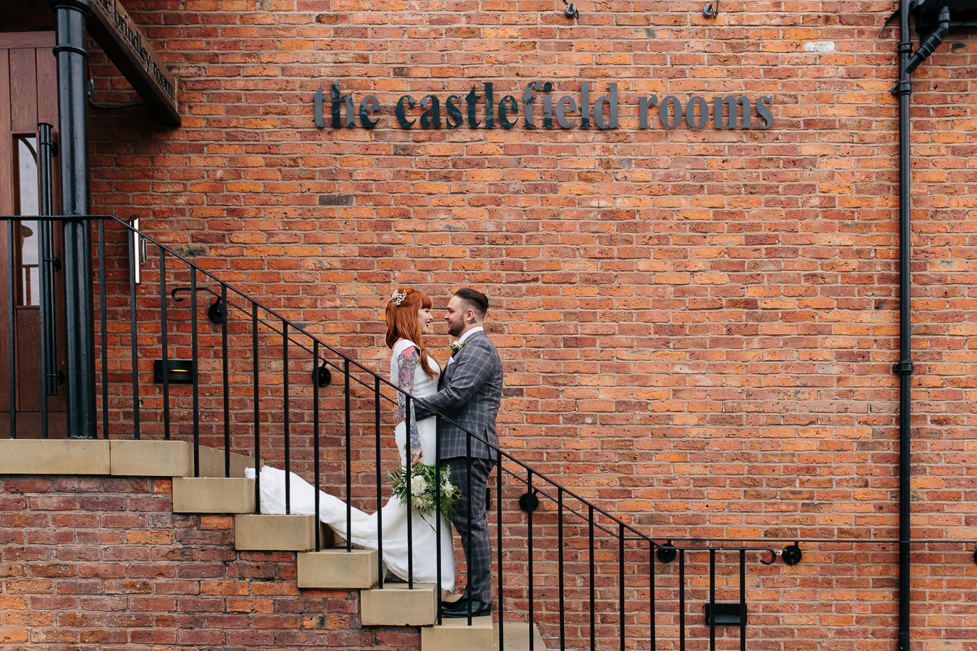wedding photography at the castlefield rooms