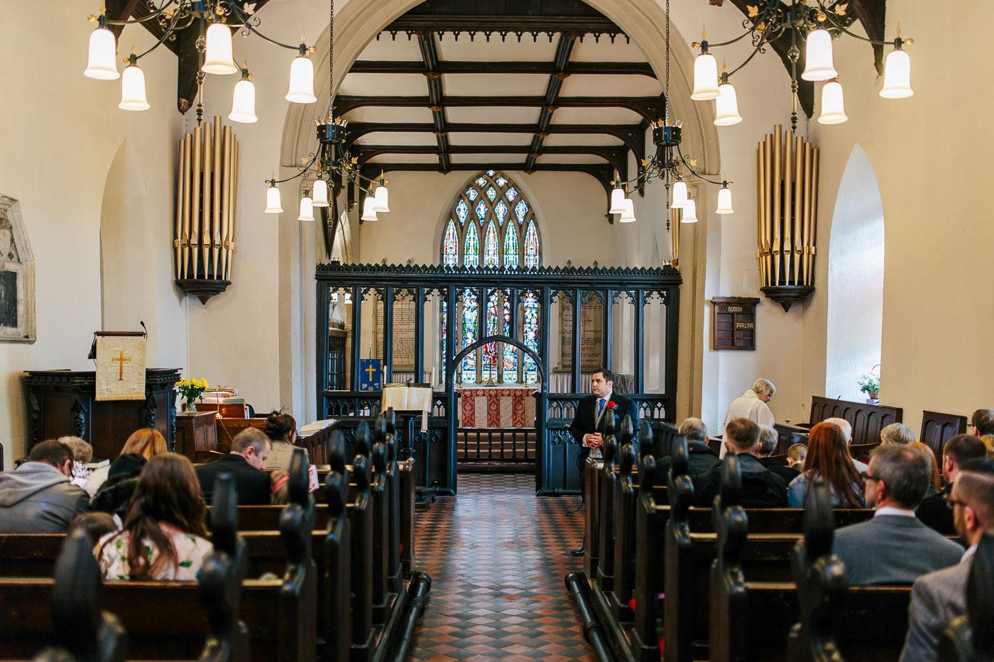 All Hallows Church in Mitton