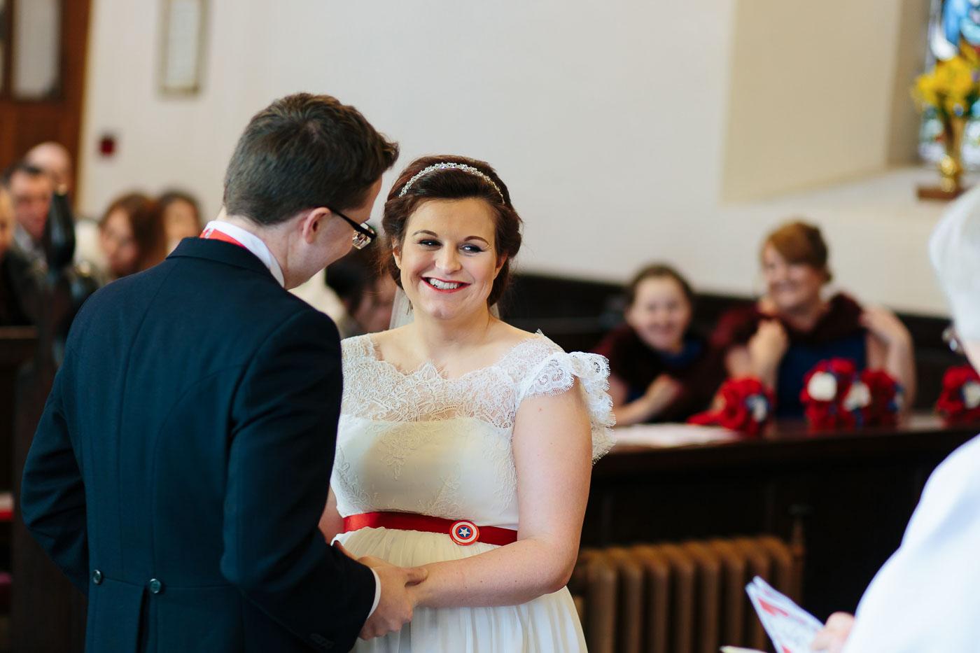 All hallows Church Wedding Photography