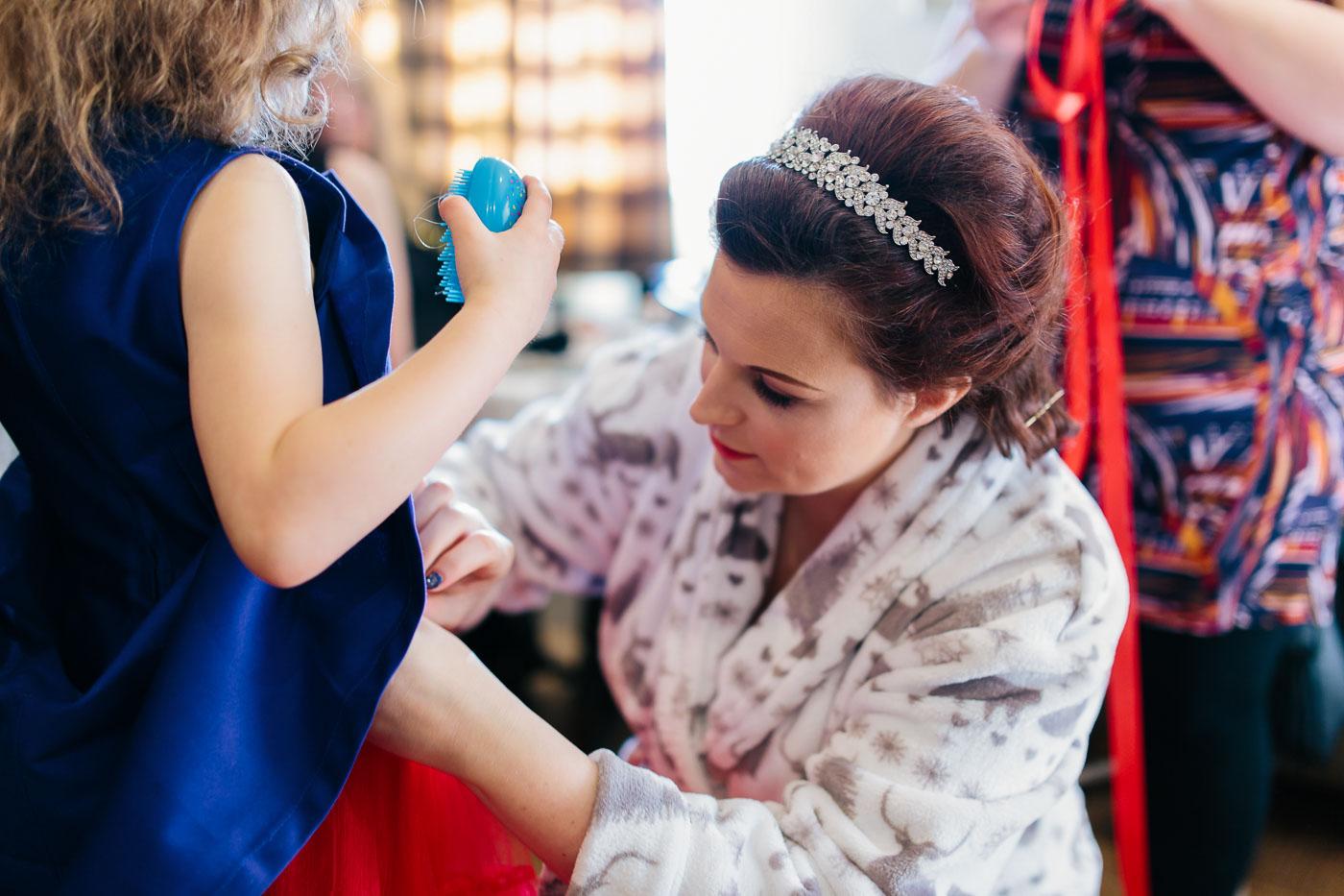 Bridal Prep at Lancashire Wedding