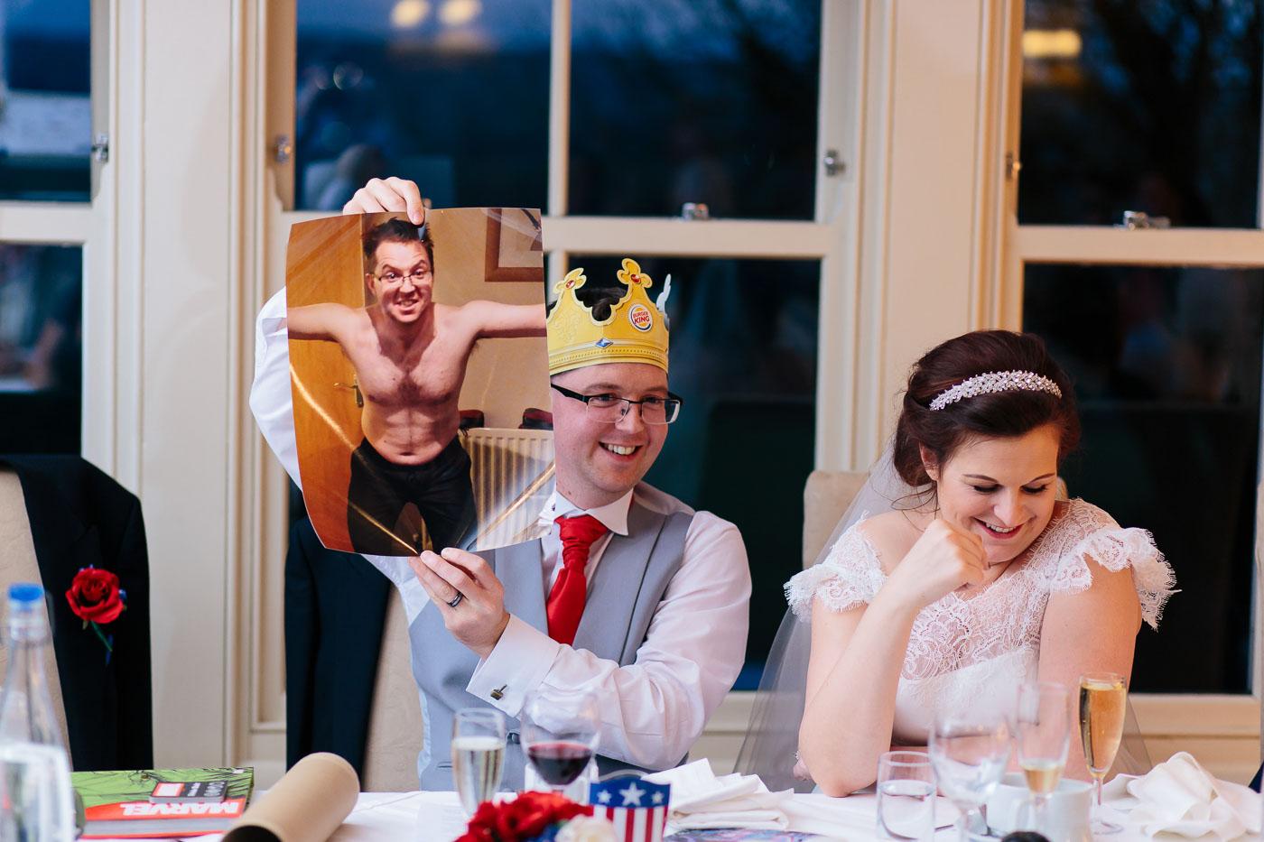 funny groom wedding speech