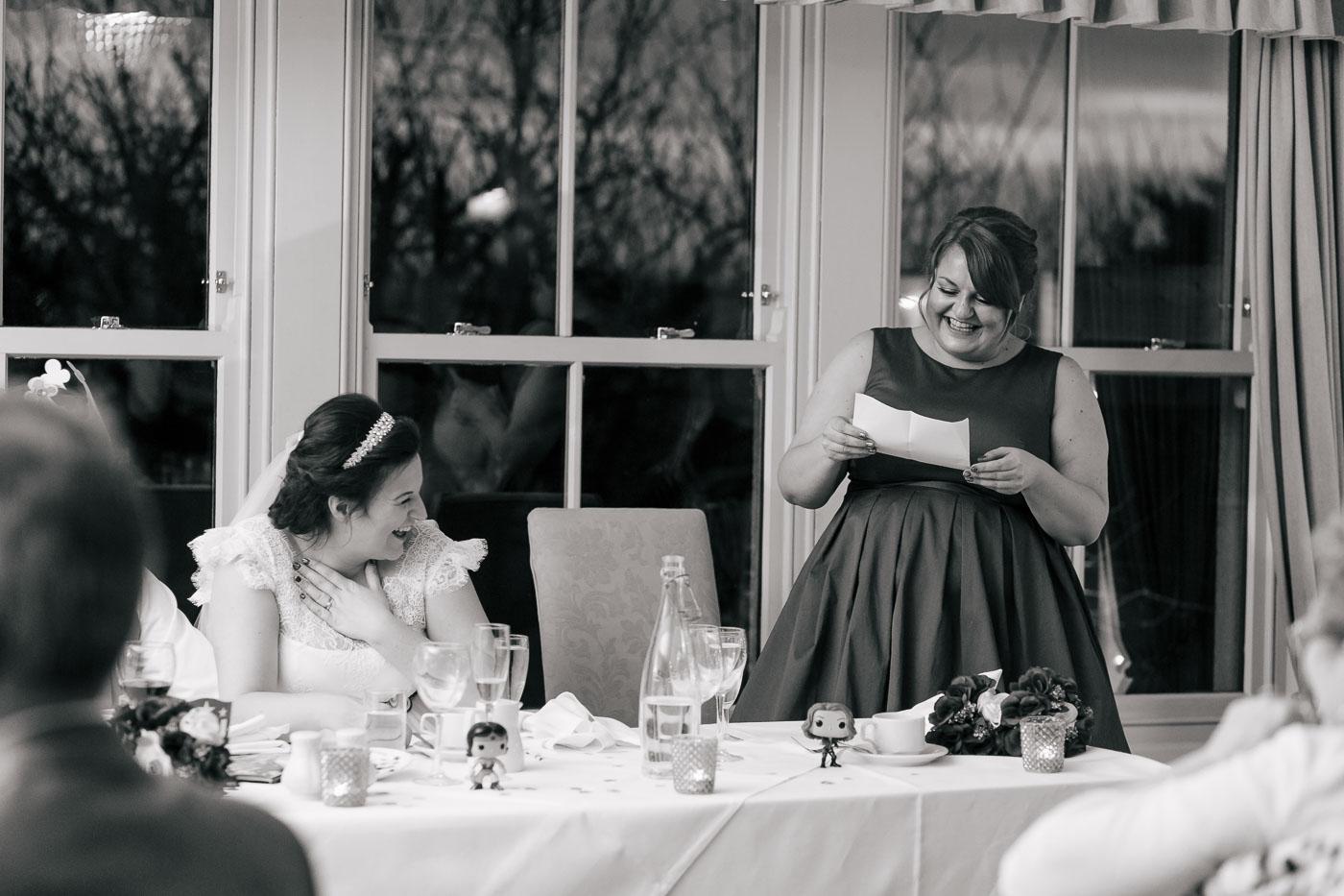 bridesmaid wedding speech