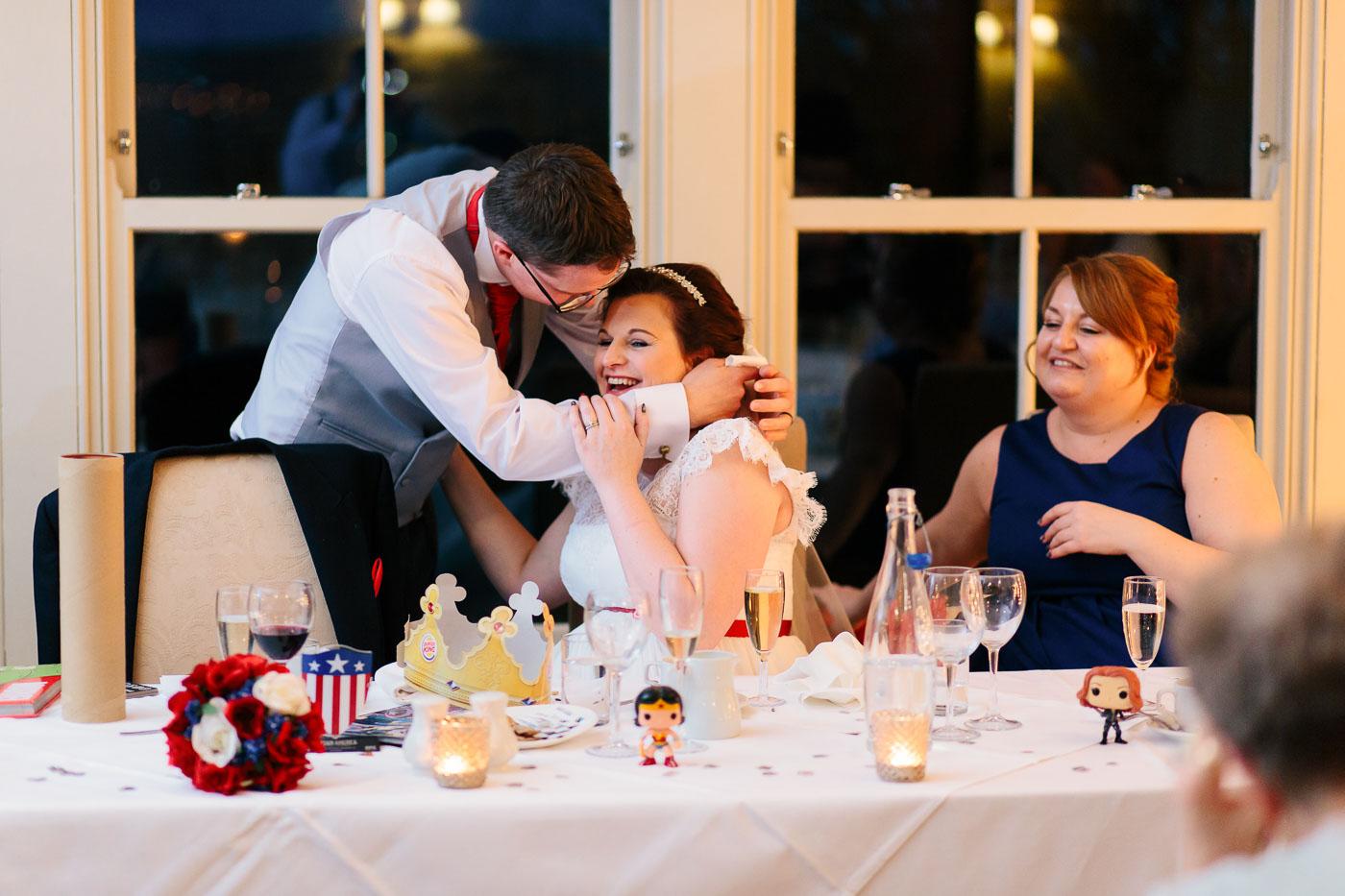 emotional wedding speech by the groom