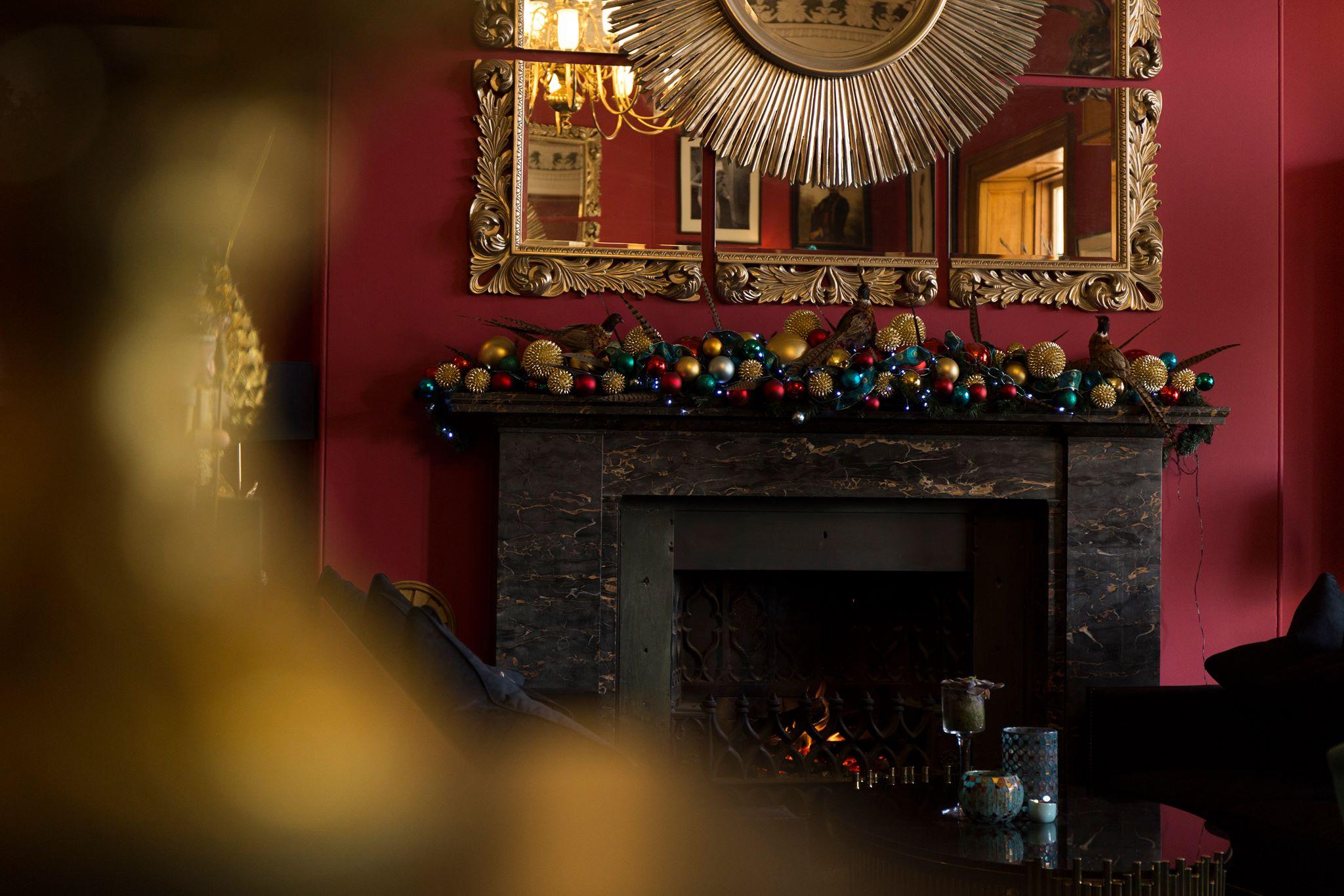 Haigh Hall Christmas Decorations