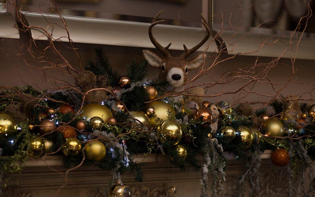 Step inside Haigh Hall's Christmas Transformation
