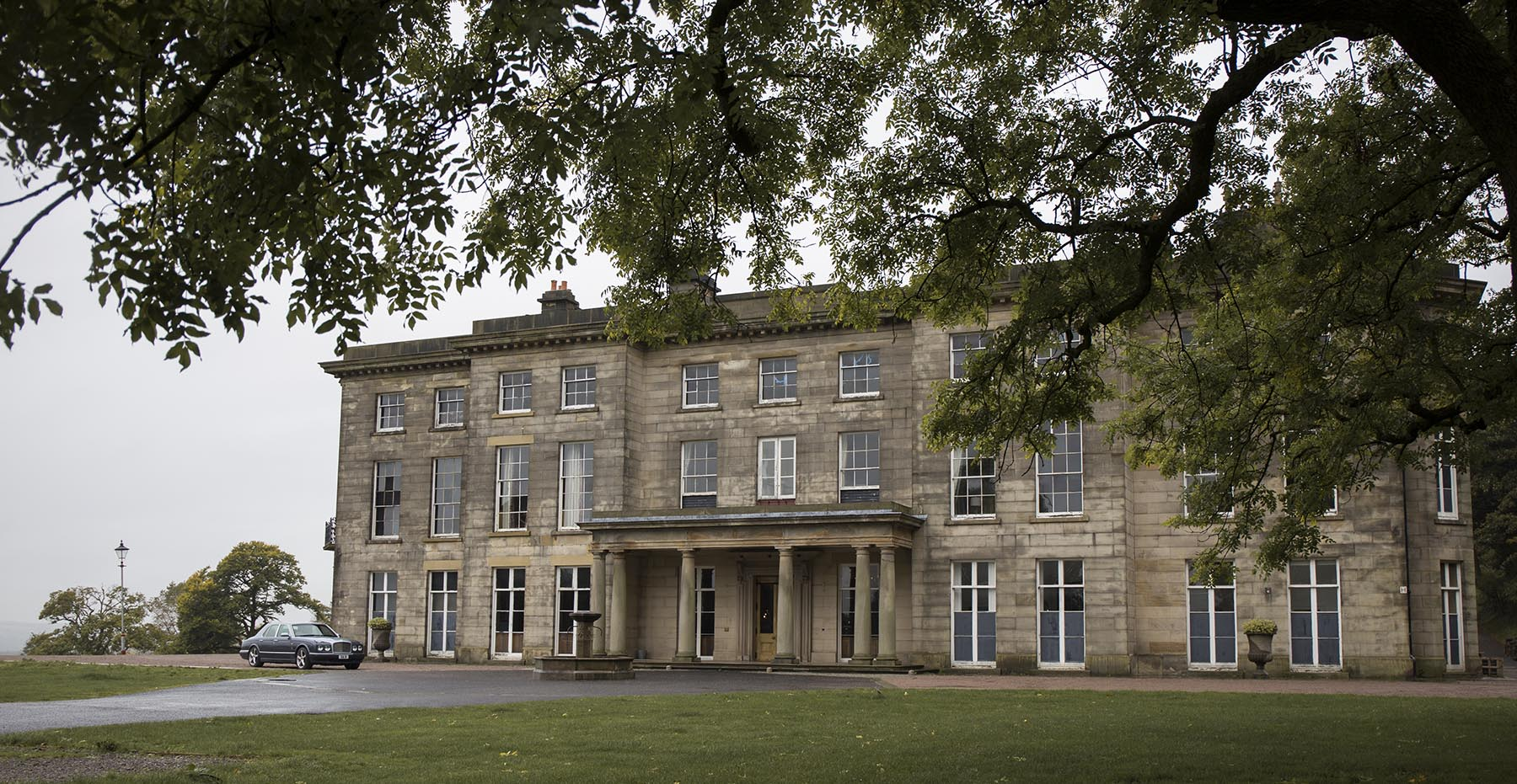 Haigh Hall front view