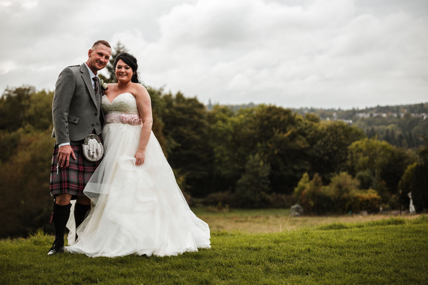 documentary wedding photography in Scotland