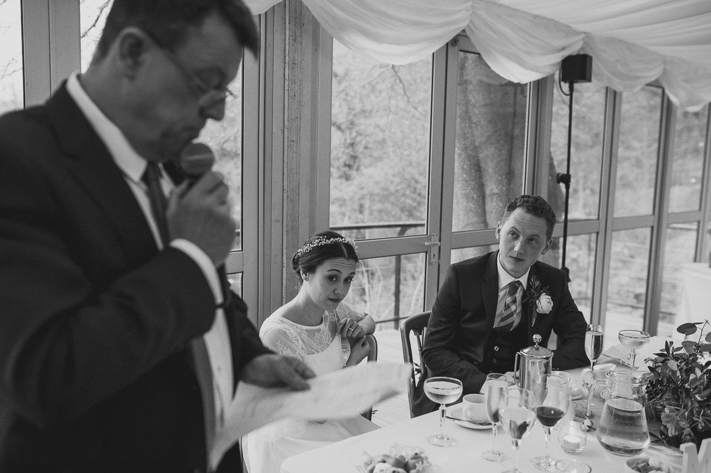 Wedding Speech, Marquee wedding