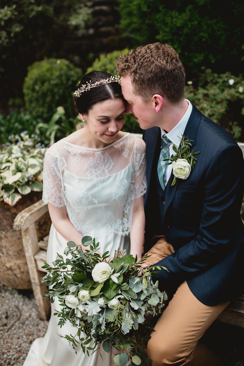 Couple photographs at Lancashire Wedding