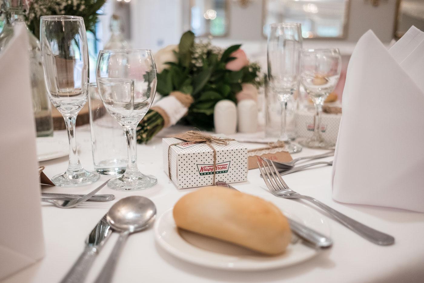 krispy kreme wedding favours