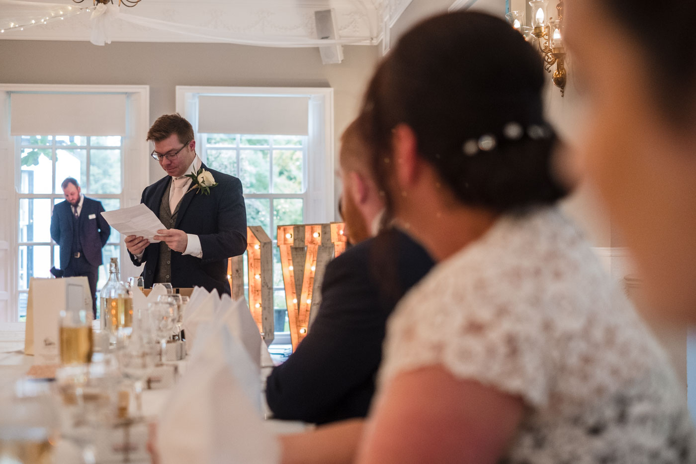 best man reading speech, statham lodge weddings