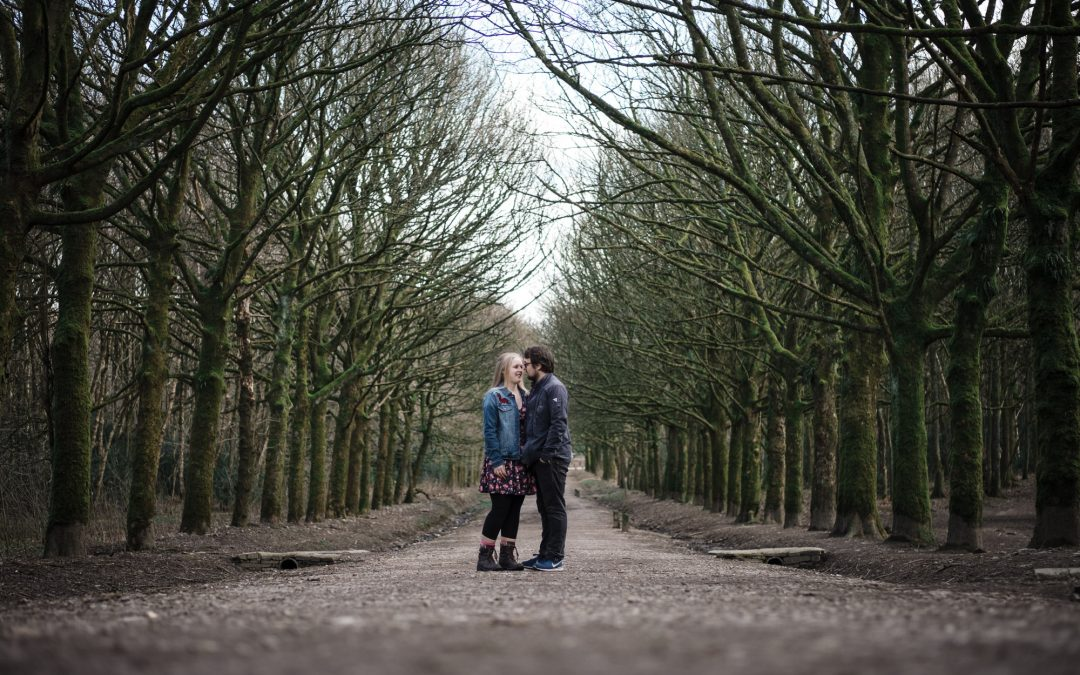 Amy & Gary's Couple Shoot at Rivington Reservoir
