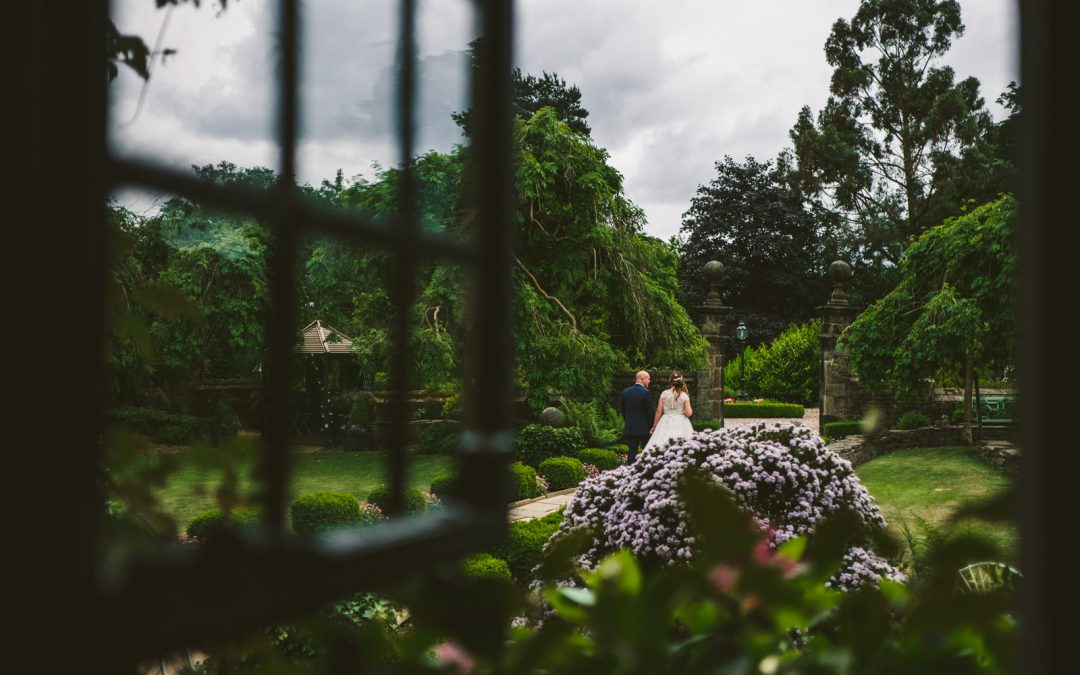 Intimate Outdoor Wedding at Holdsworth House Hotel – Helen & Paul