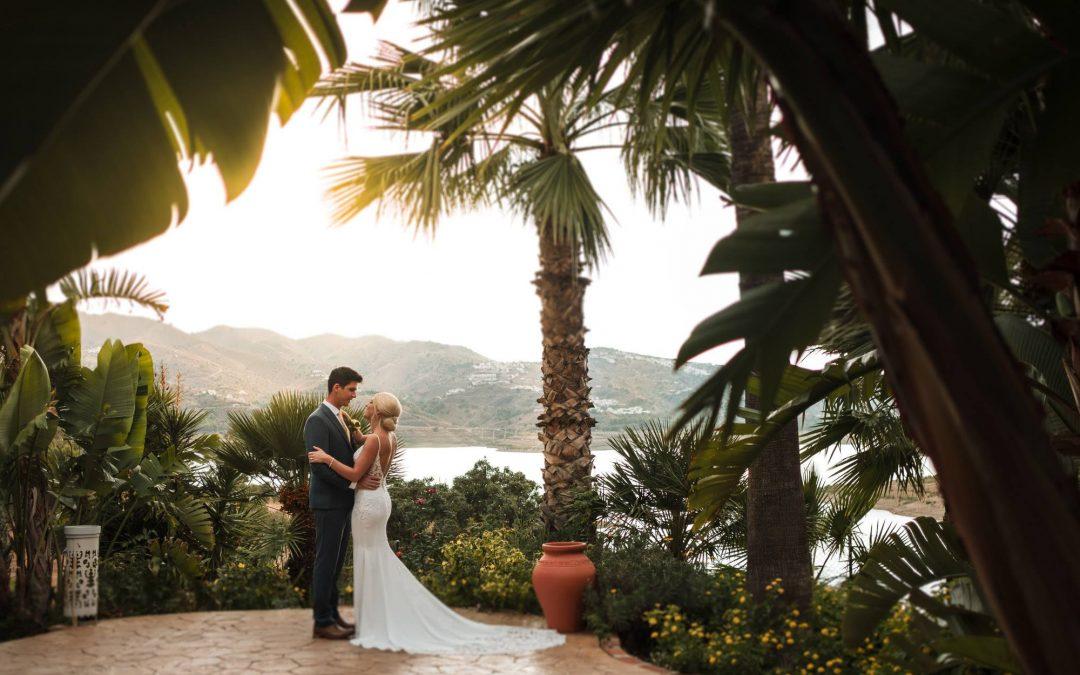 Charlotte & Ryan's Wedding at La Viñuela Hotel in Spain