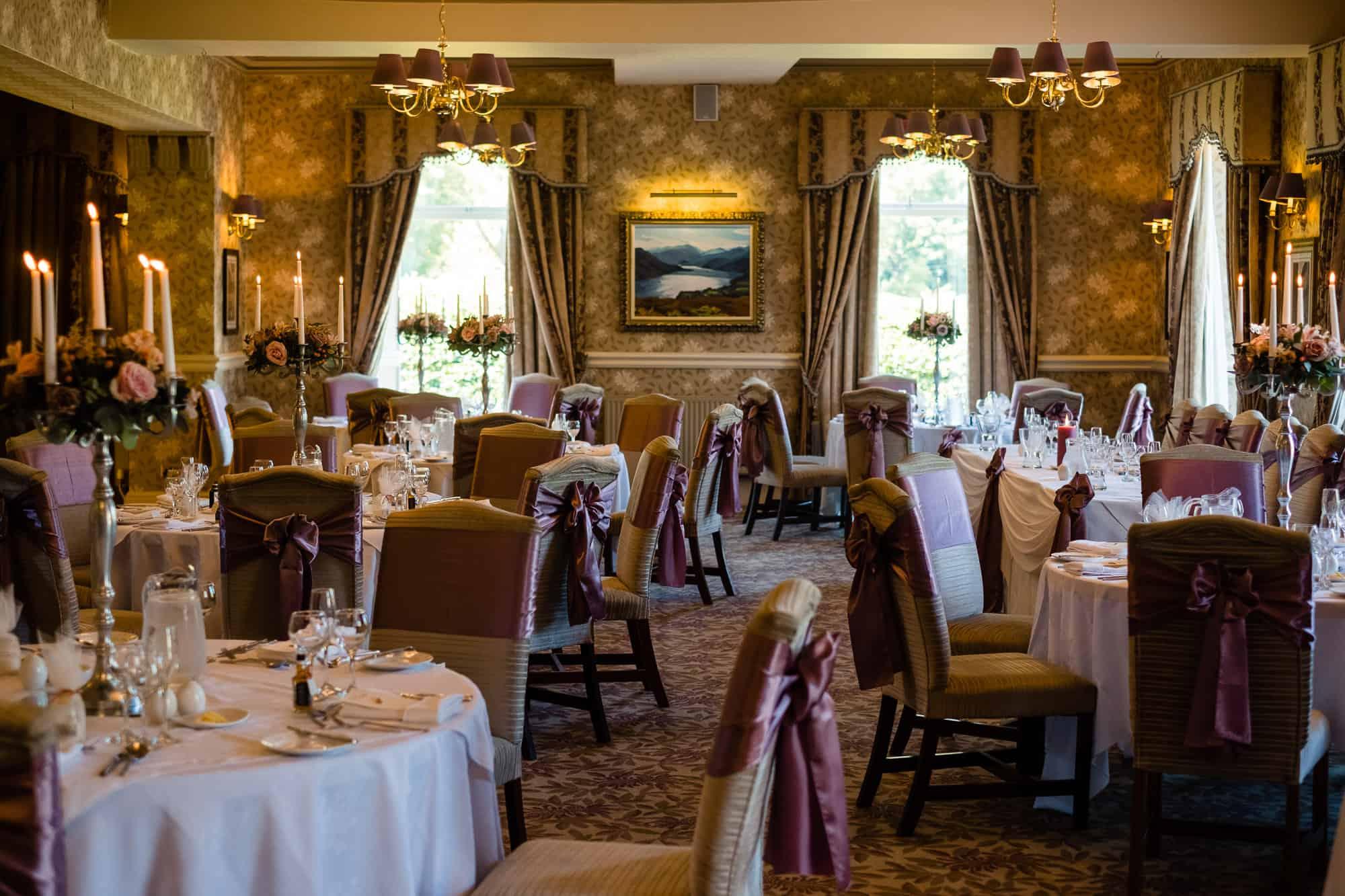inn on the lake wedding reception room
