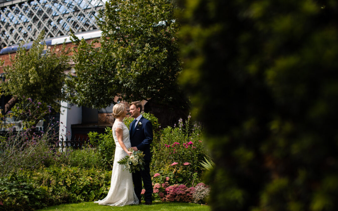 A Summer Wedding at Manchester Hall