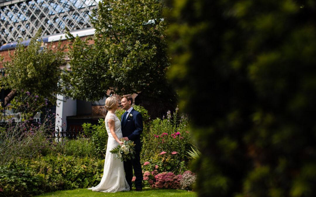 A Summer Wedding at Manchester Hall