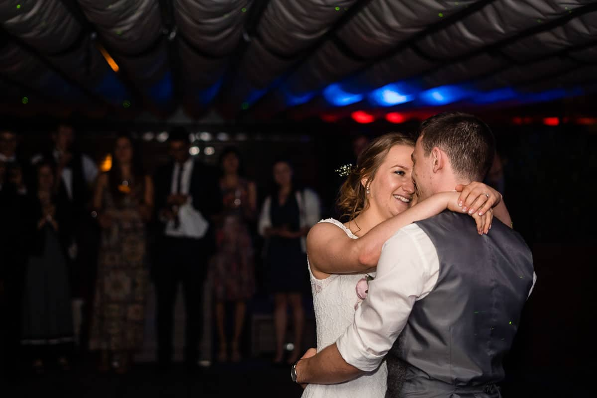 couple doing first dance